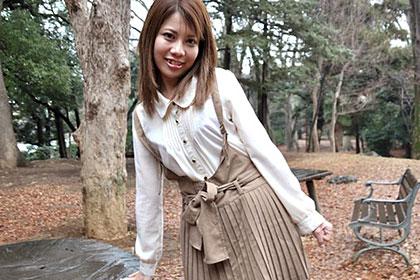 生チン大好き娘は移動中から大発情! 和久井里奈