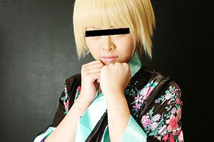 COSPLAY〜素人娘に中出し〜No.8 開発途中の金髪美少女 サヤカ