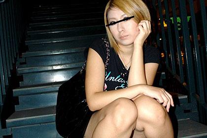 ミステリアス金髪美女と夜景H 大島サエコ