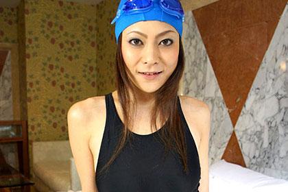 熟女競泳水着 〜女医・西川○子似の奥さん〜 中西香織