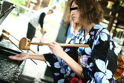 女芸人・小原○子似の浴衣妻 石田亜樹