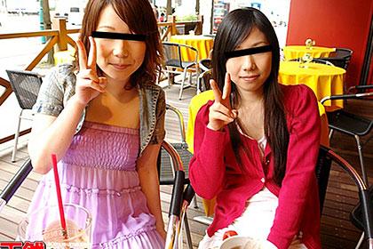 おんな友達といっしょ ルームも男もシェアする娘たち 花田静香&三田かなみ
