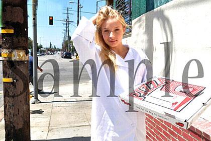 あの現役女子大生だった美少女アリッサがピザ屋でバイトしていた! アリッサ