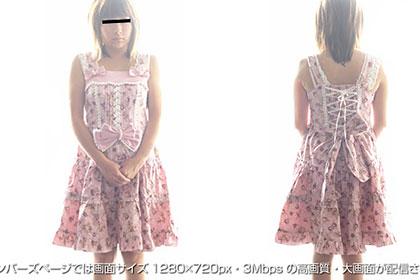ロリータ物語『第2弾!動かない人形ゴスロリ』 ミル 23歳