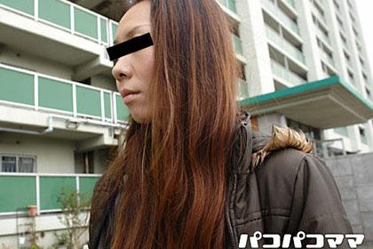 ハミ毛の色っぽい美人妻 坪倉のみか 36歳