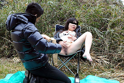 五十路記念の野外自慰 田端聡子