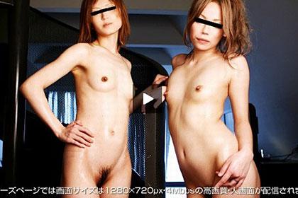 GALs Lesbian 自由奔放な元レースクィーン 3P中出し編 ルミカ&ユカリ