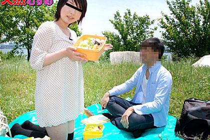 飛びっこ散歩 ピクニックで野外露出 石田望