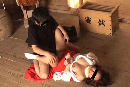 【1/2】巫女淫行事件簿2 神聖な神社で 高幡みなみ