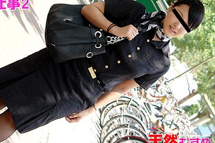 新幹線で働く女の子 河合メグ