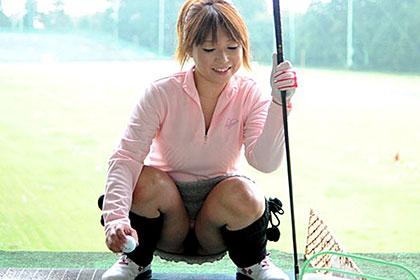ゴルフ好きの巨乳熟女と19番ホールの特別レッスン!和木美波
