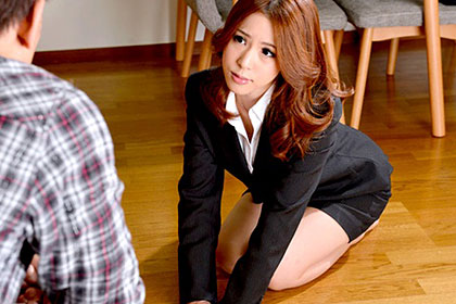 【初裏】男性専門クレーム処理課 美人OLにカラダで謝罪してもらいました! 祐花凛