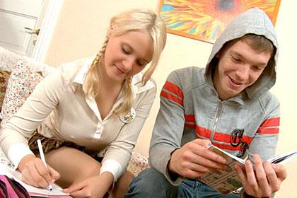 アナルもOK! ノーブラでインチキ家庭教師を誘惑 ヤりたい盛りの18歳 カレン