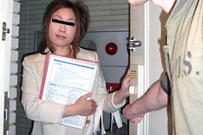 本当にいた!体で営業する美人保険外交員  川島理子 35歳