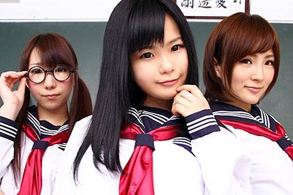 パンツ学園ハレンチ物語 第二部 元女子校に転校した童貞たち 愛代さやか 大城かえで 幸田裕子 桂希ゆに