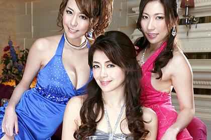 高級会員制クラブ『雅』3 前編 妖艶な美魔女3人による究極のおもてなし術 北条麻妃 横山みれい 朝桐光