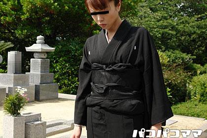 喪服野外青姦 中川律子 38歳