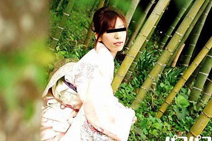 和服が似合う細身の美人若妻 結婚2年なのに欲求不満が溜り過ぎて・・・ 天野円香