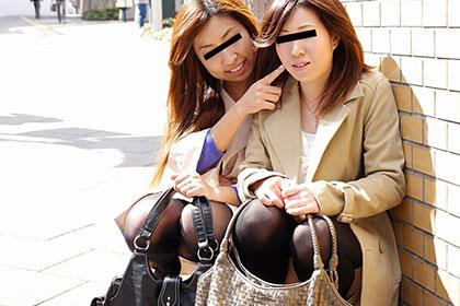 パート帰りの仲良し若妻人2組がレズプレイ+3P 安田京子 真中里美