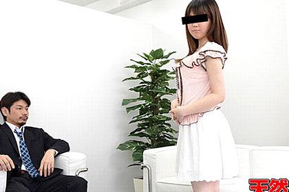 素人AV面接 自ら撮影応募してきたロリ顔の女の子 長岡麻衣子