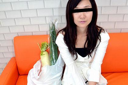 主婦を口説く12 噂の剛毛美熟女 精液絡むねネバネバ陰毛 森本洋子