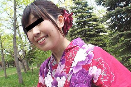 雑誌のモデル撮影と騙して浴衣娘を強襲 島崎友紀子