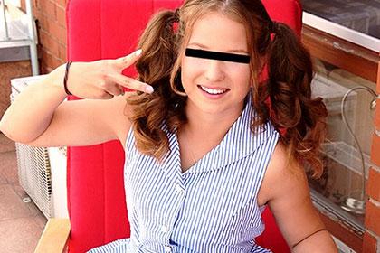SNSサイトで知り合った18歳の美少女に、日本刀で初めての3Pエッチを初体験させちゃいました GACHI-NANPA COLLECTION BANNY
