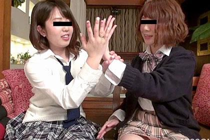 レズフェティシズム 〜幼なじみの女子校生2人はレズカップル