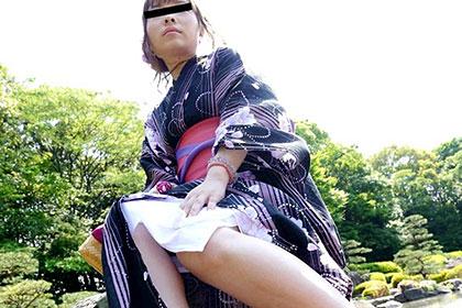 M気質で浮気性な浴衣妻に中出し