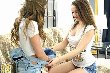激カワロリっ娘達の卑猥すぎる女同士の交尾 JALEN & OLIVIA
