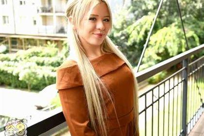 JAPANESE STYLE MASSAGE ピチピチ小柄金髪娘のBODYをジックリ弄ぶ VOL1 Anna Ray アンナ・レイ