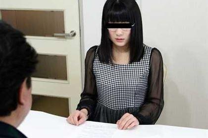 素人AV面接 官能小説好きの地味なメガネ女子が応募してきた 小司あん(平子知歌)