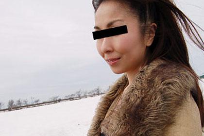 れいこ青姦雪景色