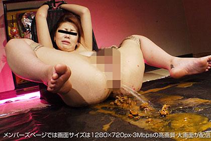 【2/2】ここまでキタ!!謎の女の最後は羞恥心崩 芹沢雅 21歳