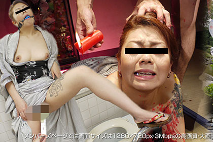 【1/2】ここまでキタ!!謎の女の最後は羞恥心崩壊 芹沢雅 21歳