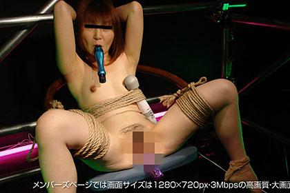 【1/2】縛られ咥えさせられイキ続けるSMおばさん 鈴木雅子 31歳