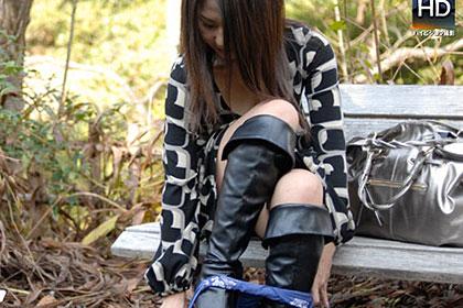 初めての野外露出とアナル体験 菊川麻里 35歳