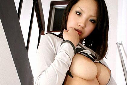 ヤンキー顔だけど内気な女の子! 増田沙希