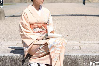 着物ナンパ  〜和服美人妻の下着を検証〜大島加奈子 38歳